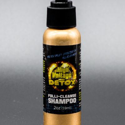 High Voltage Folli-Cleanse Shampoo - 2oz bottle - High Voltage Detox